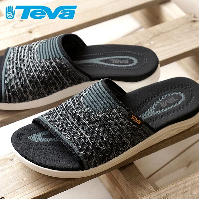 3a5af73a2442 Teva Teva men sandal MNS Terra-Float 2 Knit Slide terra float 2 knit slide  BLK black (1092189 SS18)