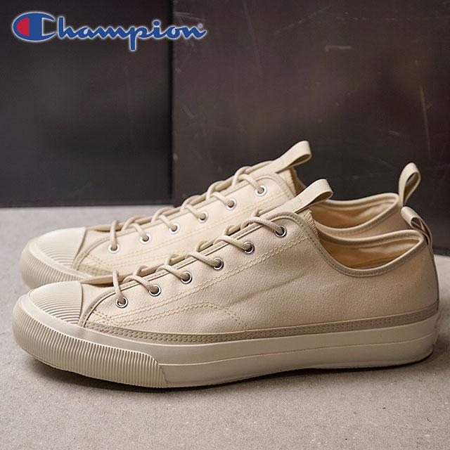 【即納】Champion Footwear チャンピオン フットウェア 国産スニーカー 靴 ROCHESTER LO BS ロチェスター ロー バックサテン Ivory アイボリー (C2-L701 SS18)【コンビニ受取対応商品】