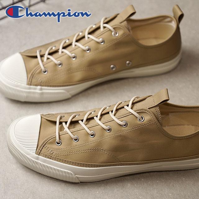 Champion Footwear チャンピオン フットウェア 国産スニーカー 靴 ROCHESTER LO CC ロチェスター ロー チノクロス Beige ベージュ (C2-L703 SS18)【ts】【e】