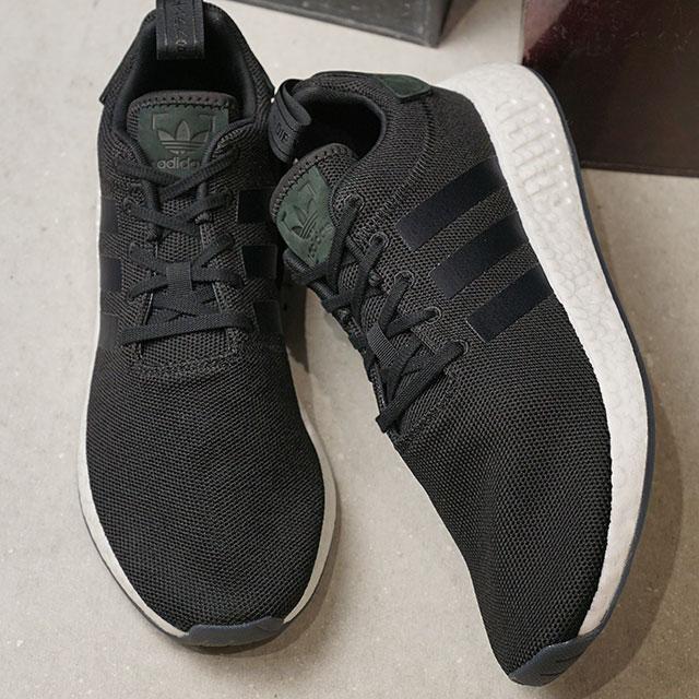 【在庫限り】adidas アディダス スニーカー 靴 メンズ オリジナルス NMD_R2 エヌエムディー アール2 コアブラック/コアブラック/コアブラック (CQ2402 SS18)【e】【ts】