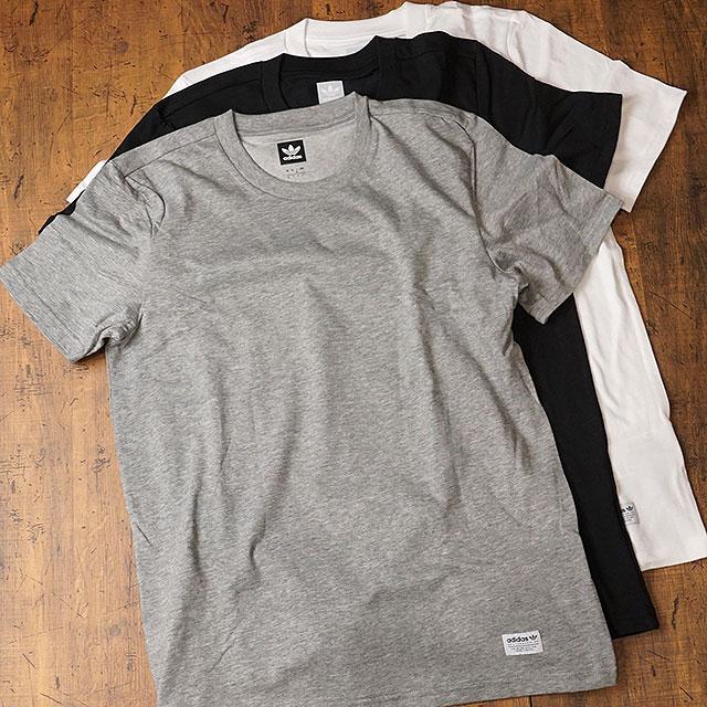 shoetime 3 adidas adidas t shirt men pack tees 3 pack. Black Bedroom Furniture Sets. Home Design Ideas