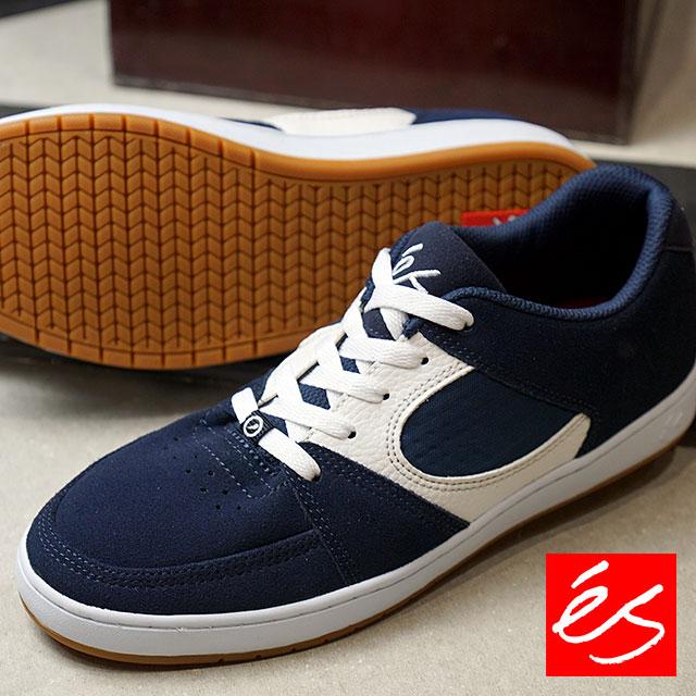 【在庫限り】es エス スニーカー 靴 ACCEL SLIM アクセル スリム スケシュー スケートシューズ BLUE/WHITE(TOM ASTA COLOR) (SS18)【ts】【コンビニ受取対応商品】