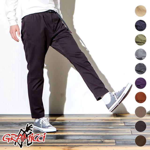 GRAMICCI グラミチ NN パンツ タイトフィット メンズ NN-PANTS TIGHT FIT ニューナローパンツ (8818-FDJ SS18)【コンビニ受取対応商品】