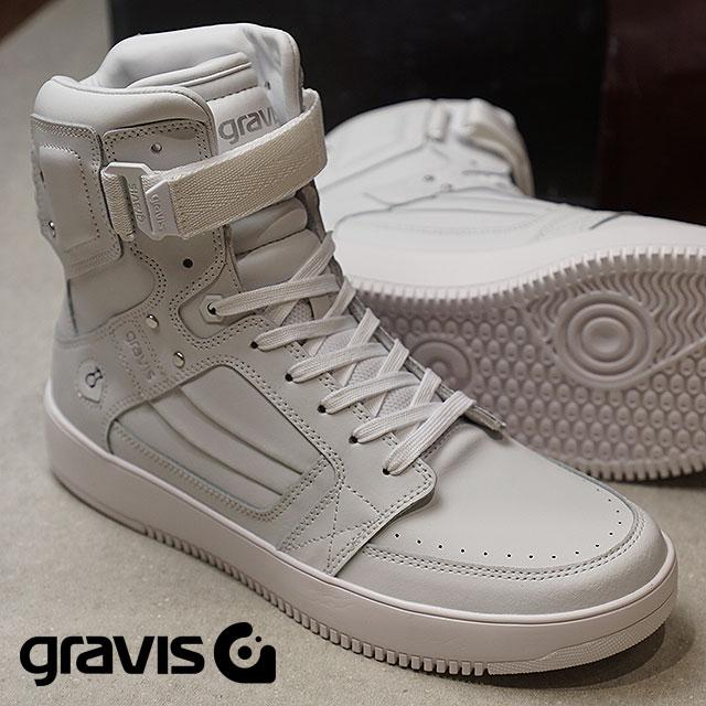 【即納】gravis グラビス スニーカー 靴 メンズ BARBADOS バルバドス WHITE (11170 SS18)【コンビニ受取対応商品】