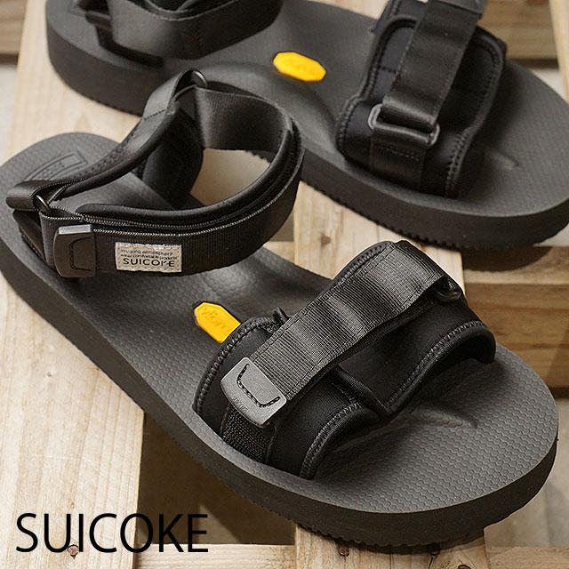 9e1cc2dbd2384a SUICOKE Sui cook sandal men Lady s CEL-V vibram sole sandal DEPA V2 BLACK  black (OG-064V SS18)