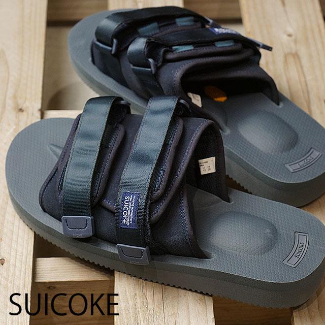 cca7c349dcd SUICOKE Sui cook sandal men MOTO-VS vibram sole sandal NAVY (OG-056VS SS18)