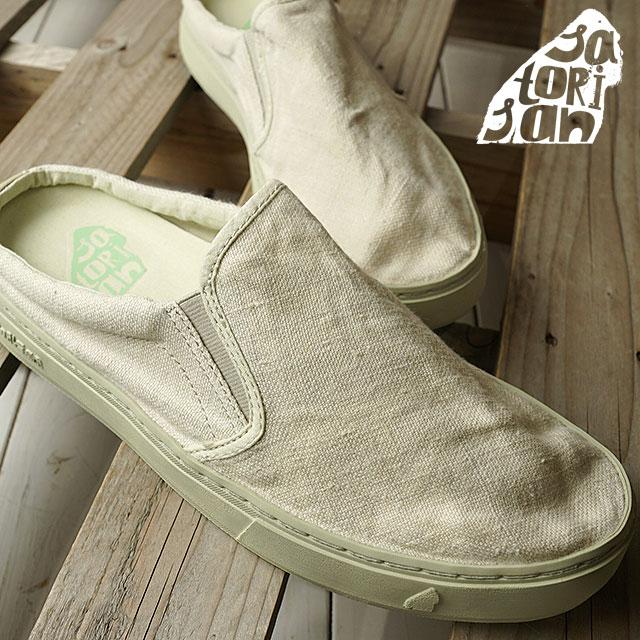 【即納】SATORISAN サトリサン スニーカー 靴 サンダル 靴 メンズ SOUMEI CLOG LINEN ソウメイ クロッグ リネン MEGA MARBRE (SS18)【コンビニ受取対応商品】