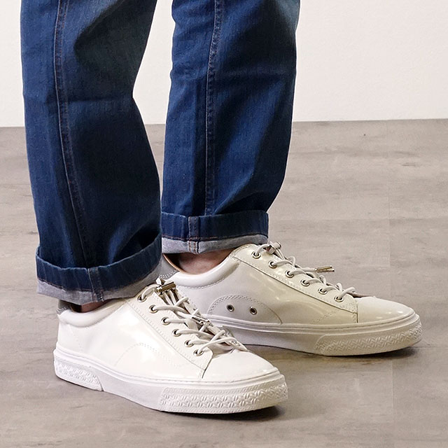【即納】スラック SLACK クルード CLUDE スニーカー 靴 メンズ・レディース WHITE/WHITE (SL1201-102 SS18)【コンビニ受取対応商品】