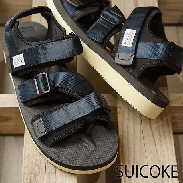 【即納】スイコック SUICOKE ストラップ スポーツサンダル ビブラム KISEE-V 靴 メンズ・レディース NAVY (OG-044V SS18)【コンビニ受取対応商品】