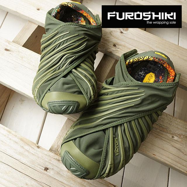 ビブラム フロシキ シューズ レディース Vibram FUROSHIKI shoes スニーカー ビブラムソール 靴 Olive (18WAD04 SS18)【コンビニ受取対応商品】