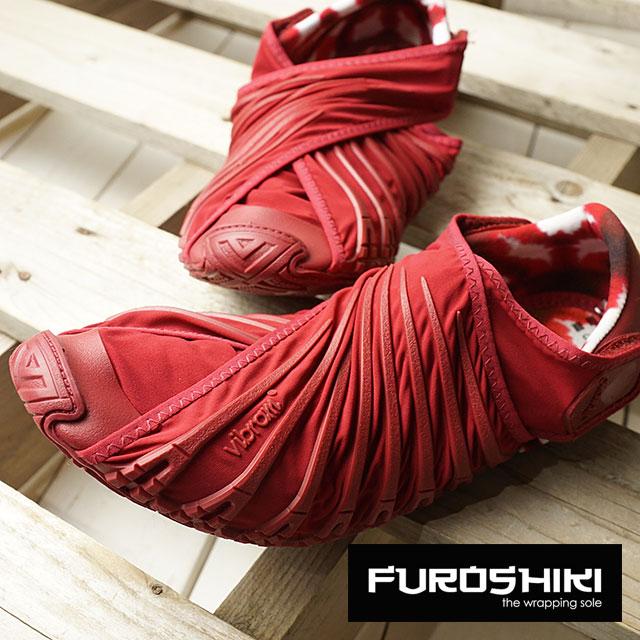 ビブラム フロシキ シューズ レディース Vibram FUROSHIKI shoes スニーカー ビブラムソール 靴 BEET RED (18WAD02 SS18)【コンビニ受取対応商品】