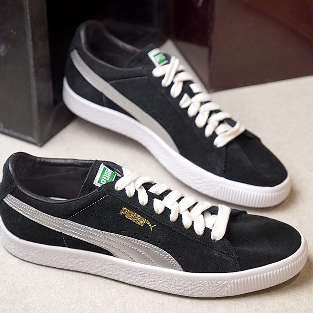 【即納】【限定モデル】PUMA プーマ スエード メンズ・レディース SUEDE 90681S スウェード 90681S PUMA BLACK/SILVER 靴 (366102-01 SS18)【コンビニ受取対応商品】