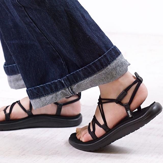 00223e3fe30f Teva Teva Lady s sandal WMNS Voya Infinity ボヤインフィニティー BLK black (1019622  SS18)