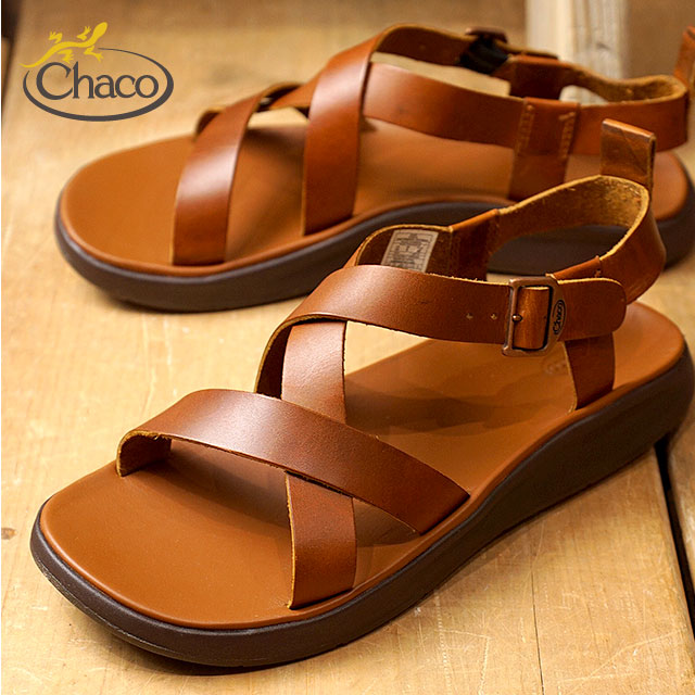 0feed0ab33c Chaco sandal Chaco men leather sandal MENS WAYFARER ウェイヘラー Rust (12366134  J106137 SS18)