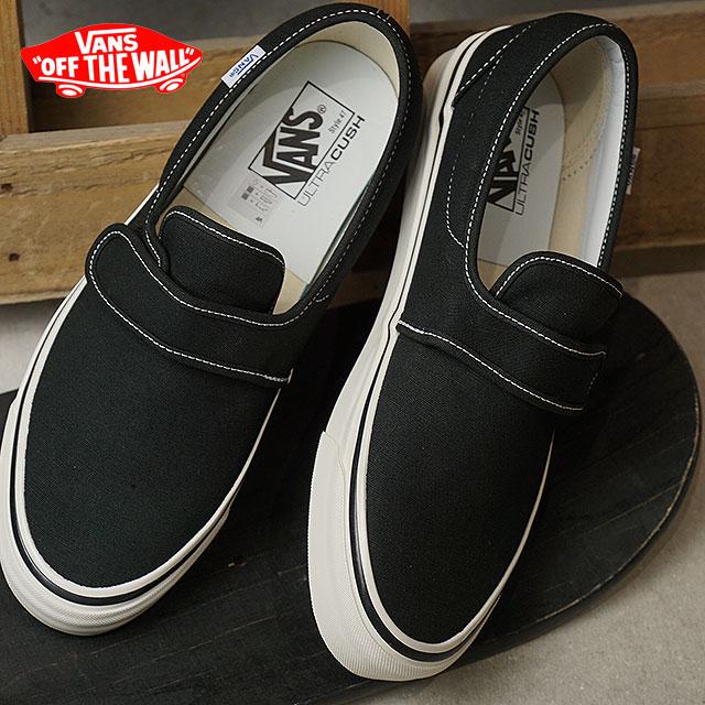 SHOETIME  VANS vans men sneakers shoes Anaheim Factory Slip-On 47V DX  Anaheim slip-on 47 Velcro DX slip-ons black black (VN0A3MVAMR2 SS18)  e2b175a977