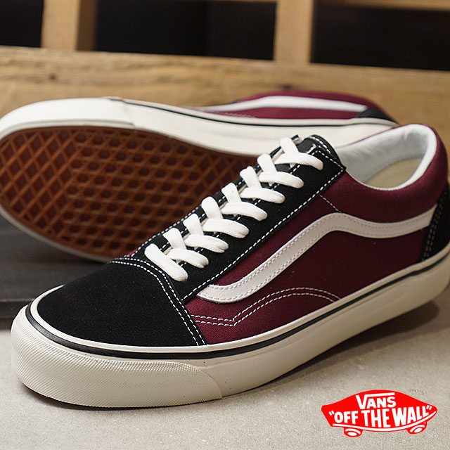 dd907eb904 VANS vans men sneakers shoes Anaheim Factory Old Skool 36 DX Anaheim old  school 36 DX black og burgundy black   bar Gandhi (VN0A38G2R1U SS18)