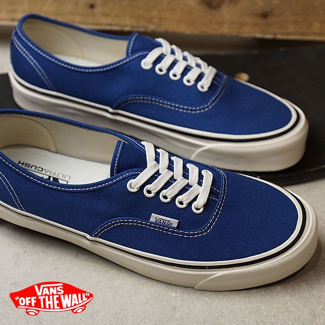 40302a7742e8bc 44 VANS vans men sneakers shoes Anaheim Factory Authentic 44 DX Anaheim  authentic DX og blue blue (VN0A38ENQA5 SS18)