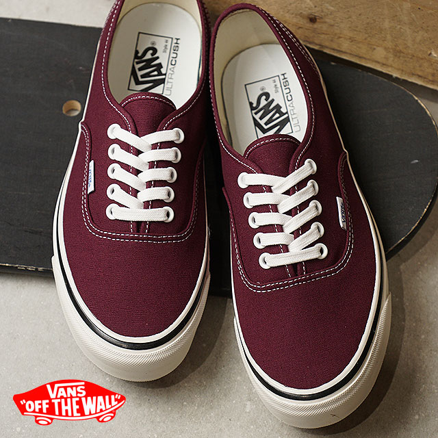 authentic vans maroon