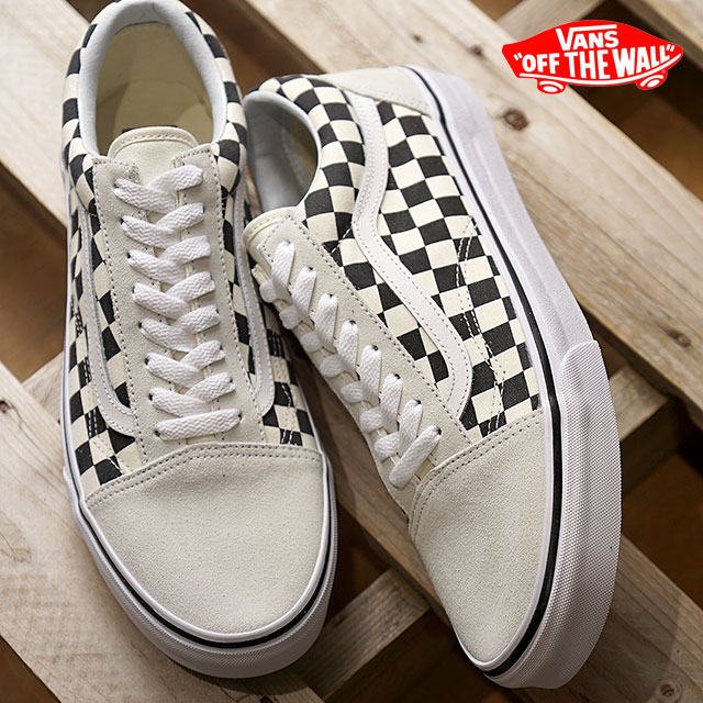 5c1cc7de8b3215 VANS vans men sneakers shoes Checkerboard Old Skool checkerboard old school  white black white   black (VN0A38G127K SS18)