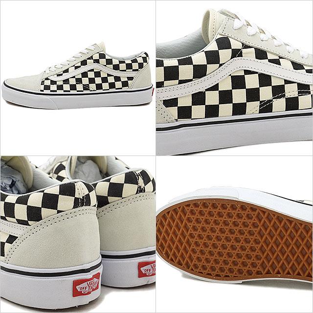 72fd35d793 VANS vans men sneakers shoes Checkerboard Old Skool checkerboard old school  white black white   black (VN0A38G127K SS18)