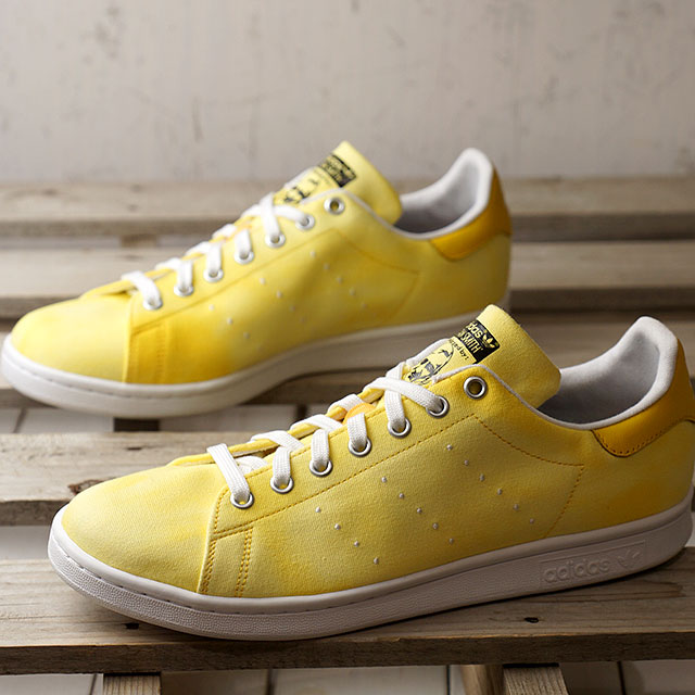 acfa06f1a6b8c adidas Adidas sneakers shoes men originals PW HU HOLI Stan Smith Farrell  Williams Stan Smith R white  R white   yellow (AC7042 SS18)