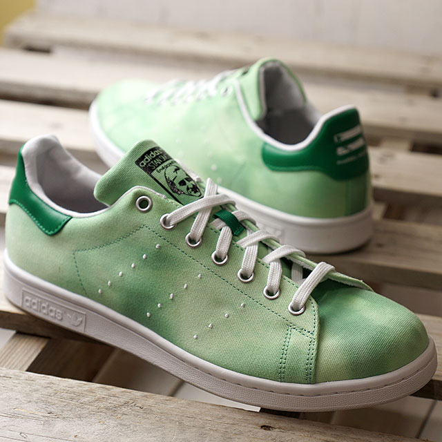 the best attitude 91f6d 7ee19 adidas Adidas sneakers shoes men originals PW HU HOLI Stan Smith Farrell  Williams Stan Smith R white /R white / green (AC7043 SS18)
