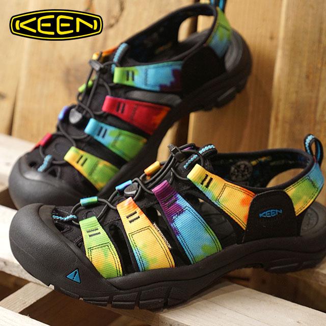 a968b71ea5d KEEN Kean sandal men M NEWPORT RETRO Newport nostalgic Original Tie Dye  (1018804 SS18) ...
