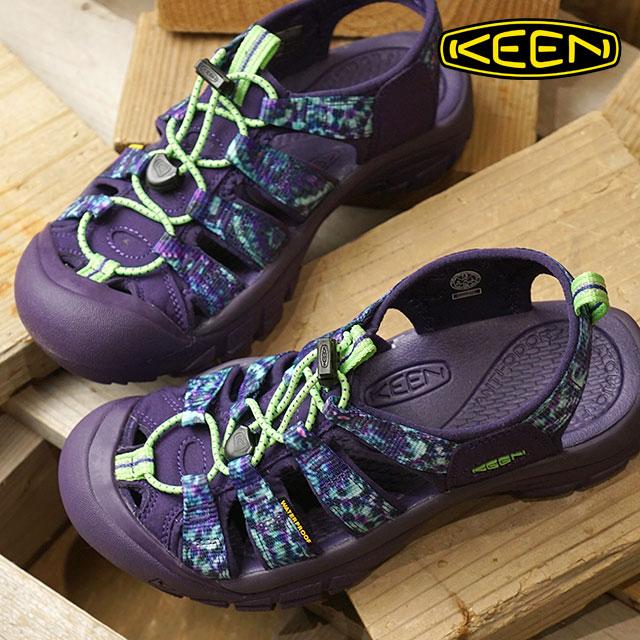 KEEN キーン サンダル 靴 レディース W NEWPORT RETRO ニューポート レトロ Dye Spiral 6 (1018211 SS18)【e】【ts】