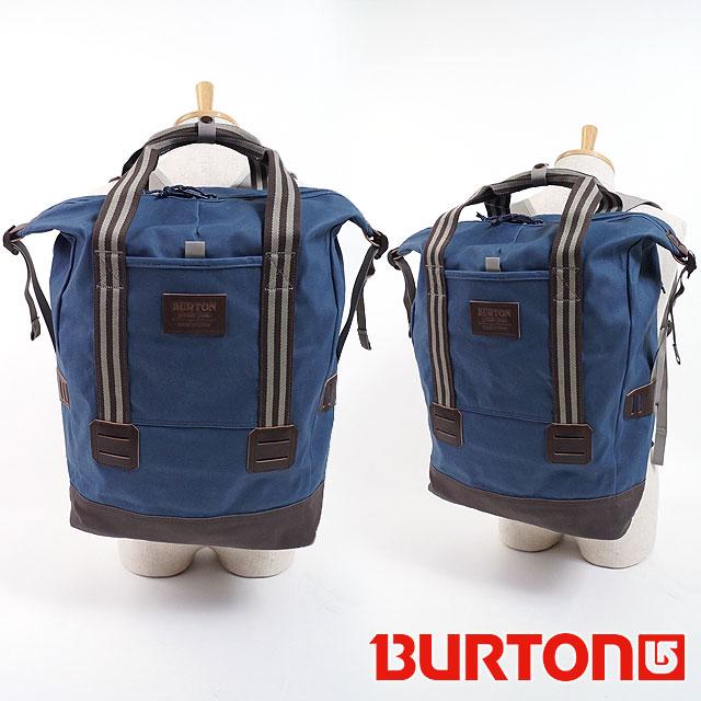 【在庫限り】BURTON バートン 25L リュック TINDER TOTE ティンダー トートバッグ バックパック デイパック M.INDIGO COATED (172931 SS18)【e】【ts】