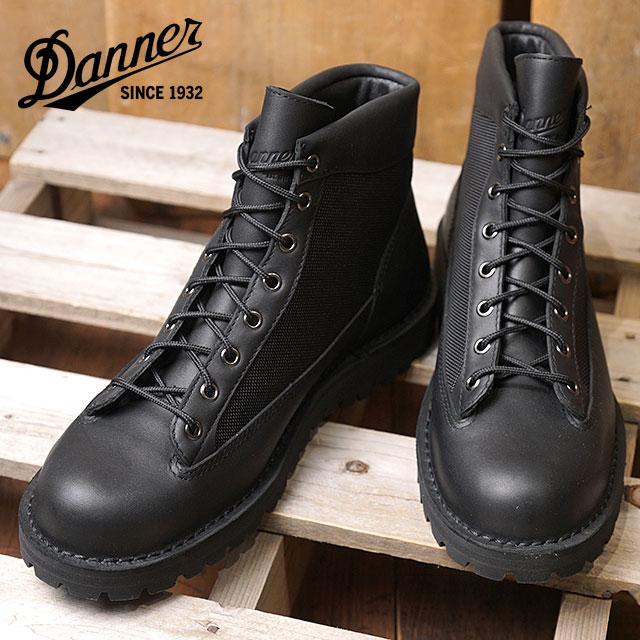 【即納】Danner ダナー マウンテンブーツ メンズ DANNER FIELD ダナー フィールド BLACK/BLACK 靴 (D121003 SS18)【コンビニ受取対応商品】