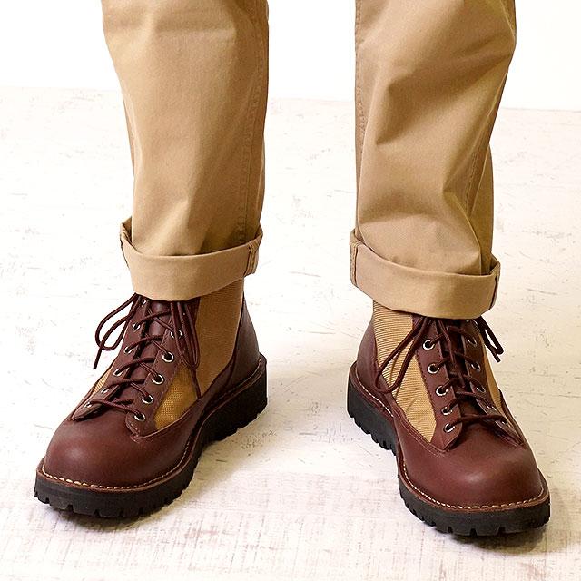 【即納】Danner ダナー マウンテンブーツ メンズ DANNER FIELD ダナー フィールド DARK BROWN/BEIGE 靴 (D121003 SS18)【コンビニ受取対応商品】