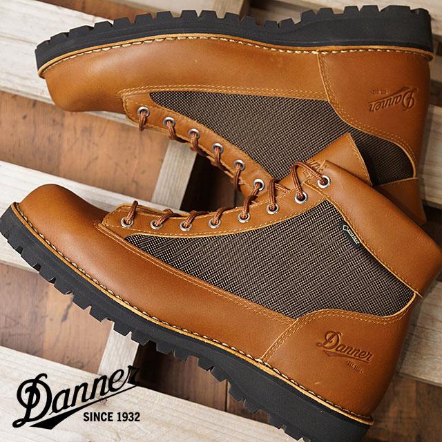 【即納】Danner ダナー マウンテンブーツ メンズ DANNER FIELD ダナー フィールド TAN/DARK BROWN 靴 (D121003 SS18)【コンビニ受取対応商品】