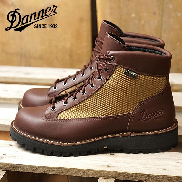 【即納】Danner ダナー マウンテンブーツ レディース WS DANNER FIELD ウィメンズ ダナー フィールド DARK BROWN/BEIGE 靴 (D121004 SS18)【コンビニ受取対応商品】