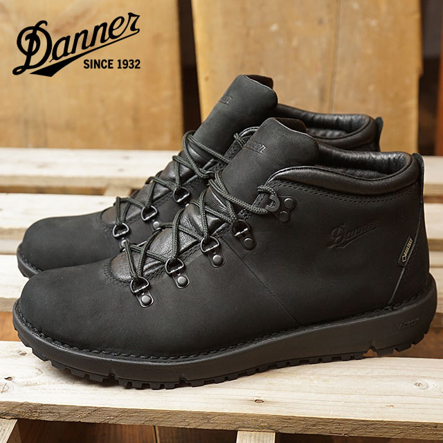 75413e68c1df Danner Danner mountain boots men TRAMLINE 917 tram line 917 BLACK shoes  (32530 SS18)