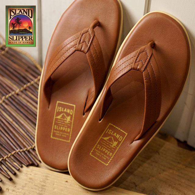 b3926f6b2710 ISLAND SLIPPER island slippers men PT202 leather sandal tong beach sandal  WHISKY (PT202 SS18)