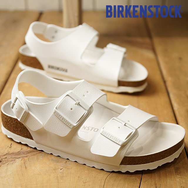 BIRKENSTOCK ビルケンシュトック サンダル 靴 メンズ・レディース MilanoHEX ミラノ White/White (1008074 SS18)【e】【ts】