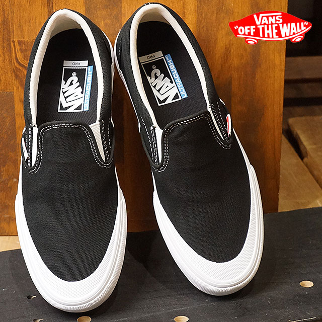 3d7b43327ef VANS vans Pross Kate sneakers shoes Toe-Cap Slip-On Pro toe cap slip-on pro  men black white (VN0A347VQ4H SS18)