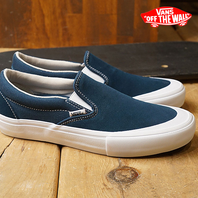 VANS vans Pross Kate sneakers shoes Toe-Cap Slip-On Pro toe cap slip-on pro men reflecting pond (VN0A347VQ4I SS18)