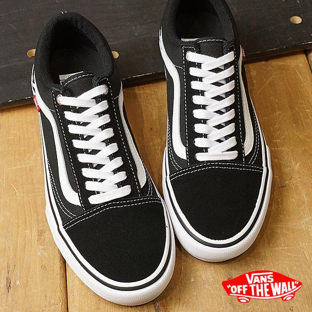 【即納】VANS バンズ プロ スケート スニーカー 靴 Old Skool Pro オールドスクール プロ メンズ black/white (VN000ZD4Y28 SS18)【コンビニ受取対応商品】