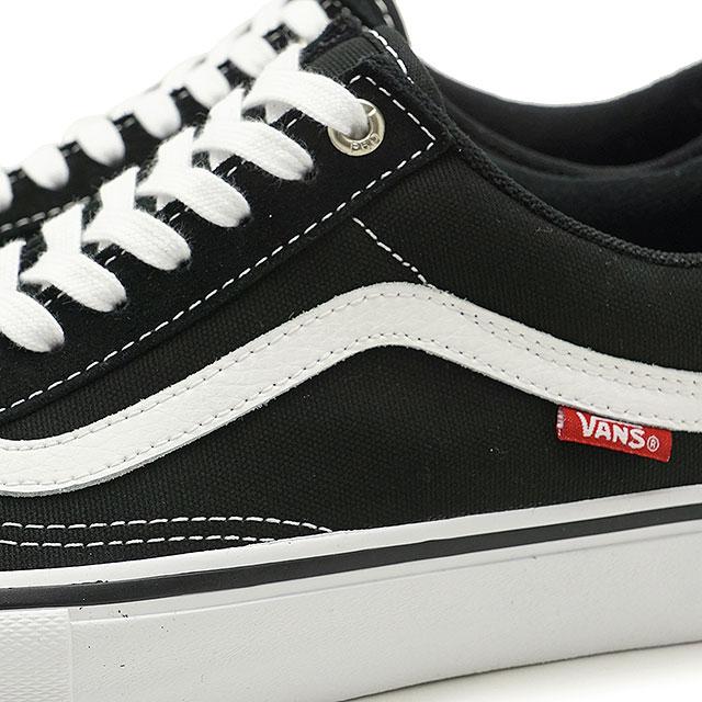 757a0c74d1b VANS vans Pross Kate sneakers shoes Old Skool Pro old school pro men black  white (VN000ZD4Y28 SS18)