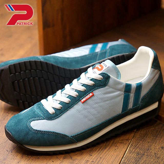 【即納】【返品送料無料】PATRICK パトリック スニーカー MARATHON マラソン PUDLE メンズ・レディース 靴 (94006 SS18)【コンビニ受取対応商品】