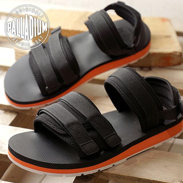 70a43f28e05 SHOETIME  PALLADIUM palladium OUTDOORSY SANDAL outdoor sandals men Lady s  shoes BLK ORG WHT (75