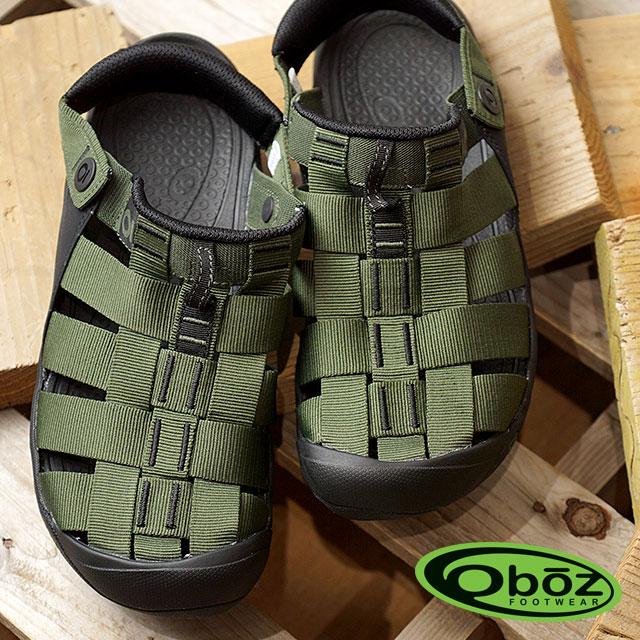 Oboz オボズ サンダル スポーツサンダル 靴 MNS Campster メンズ キャンプスター Olive (60501 SS18)