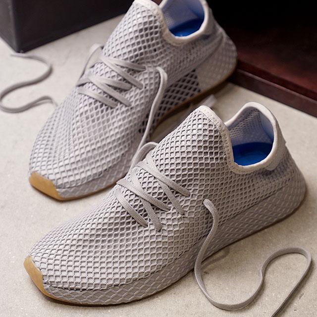 606c81e06 adidas Adidas sneakers shoes men originals DEERUPT RUNNER ディーラプトランナーグレースリー  F17 LGH solid gray   gum 1 (CQ2628 SS18)