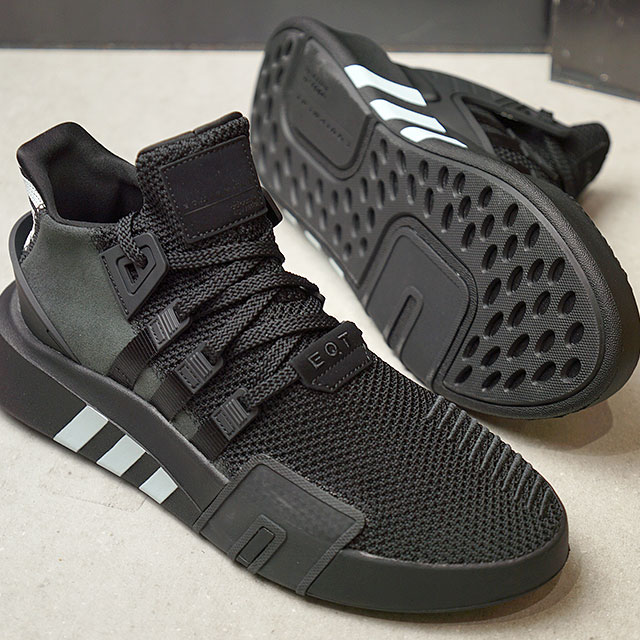 【即納】adidas アディダス スニーカー 靴 メンズ オリジナルス EQT BASK ADV イーキューティー バスク ADV コアブラック/コアブラック/ブルーティント S18 (CQ2991 SS18)【コンビニ受取対応商品】