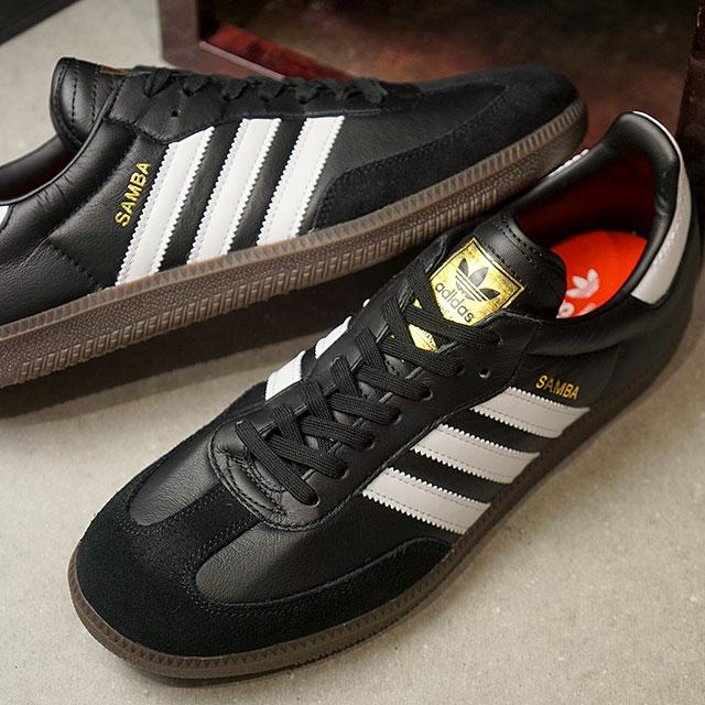 5a35455a675 adidas Adidas sneakers shoes men originals SAMBA FB samba FB kangaroo  leather core black  R white   core red S17 (CQ2094 SS18)