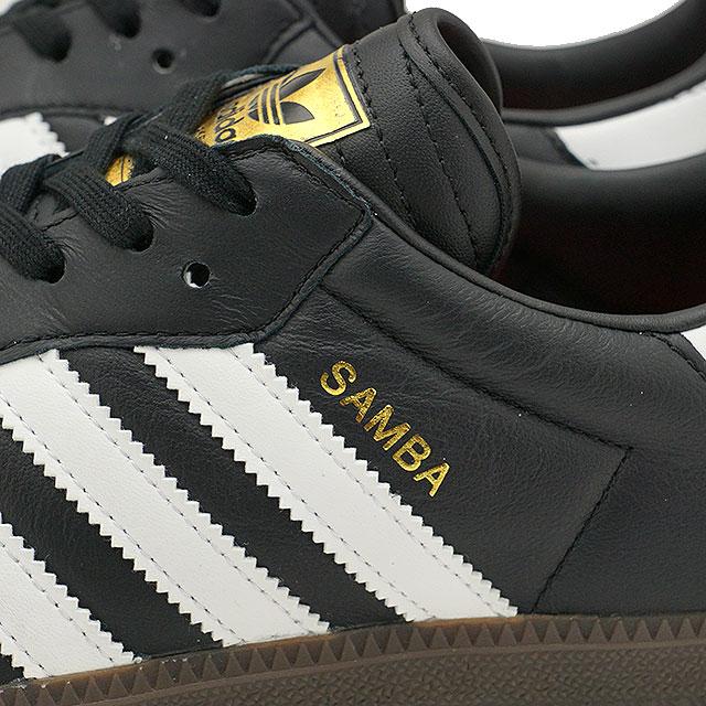 adidas Adidas sneakers shoes men originals SAMBA FB samba FB kangaroo  leather core black /R white / core red S17 (CQ2094 SS18)