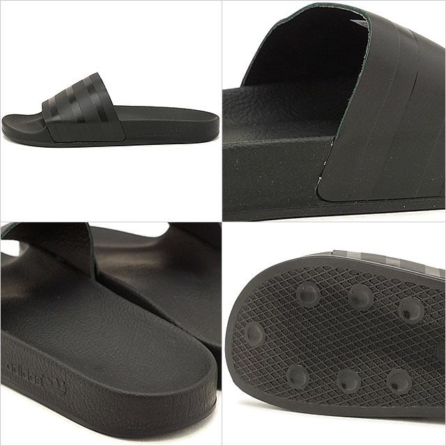 16fbb3fc3b62 adidas Adidas sandal men originals ADILETTE アディレッタレザーコアブラック   core black   core  black (CQ3094 SS18)