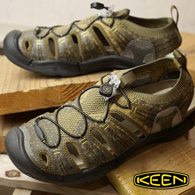 KEEN キーン スニーカー 靴 サンダル 靴 メンズ M EVOFIT ONE エヴォフィット ワン D.Olive/A.Bronze (1019300 SS18)