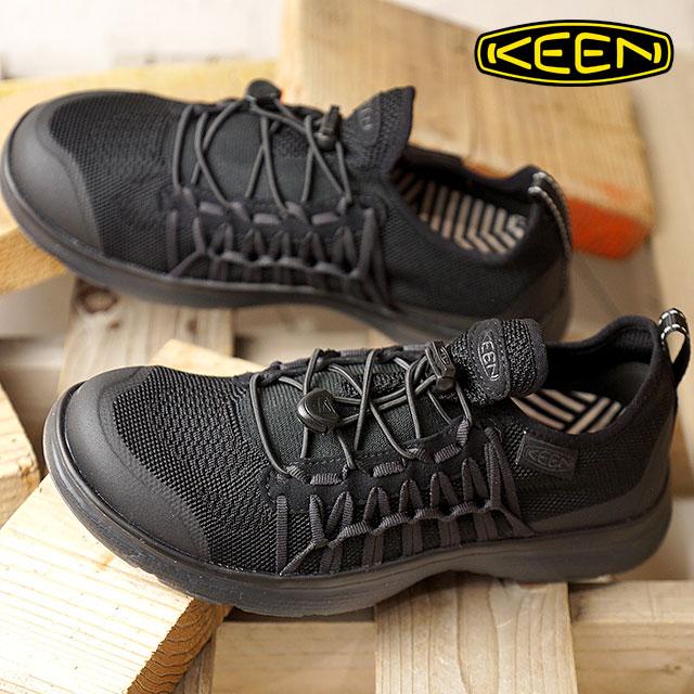 KEEN キーン ユニーク スニーカー 靴 レディース W UNEEK EXO ユニーク エクソ Triple Black (1019288 SS18)【e】【ts】